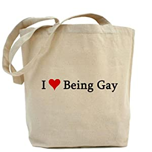 I Love Being Gay Tote Bag