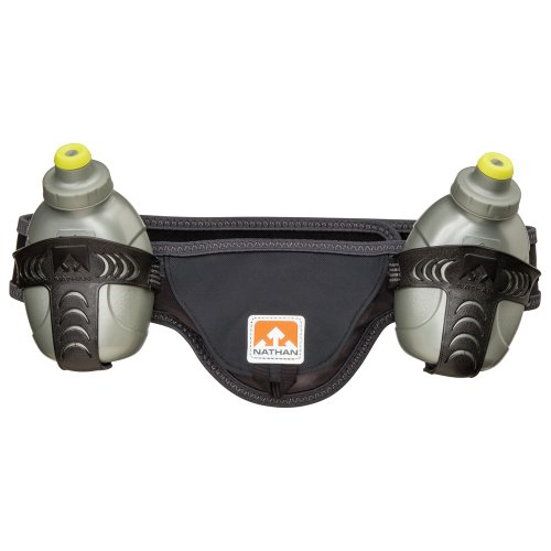 Nathan Speed 2 Hydration Belt, Black, Small