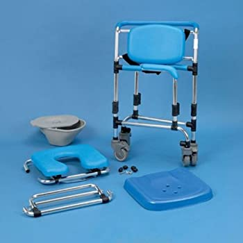 Wheeled Shower/Commode Chair - 0% VAT Relief from Mobility Smart