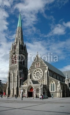 Wallmonkeys Peel and Stick Wall Decals - Christchurch Cathedral - 24