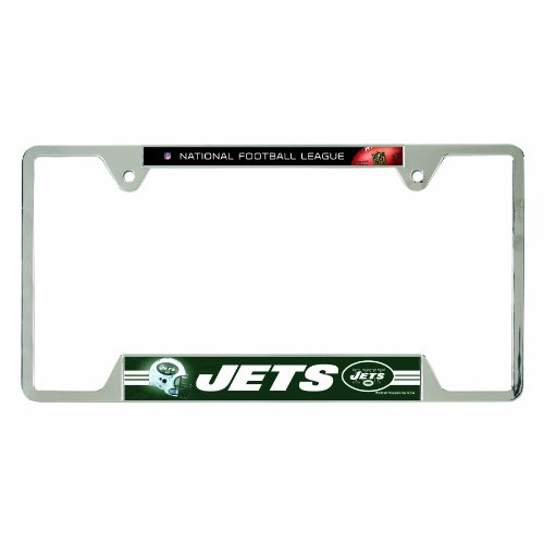 NFL New York Jets Metal License Plate Frame at Amazon.com