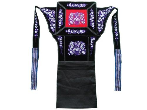 Genuine Mei Tai Baby Carrier 100% Handmade Art Front Back Sling Wrap Podaegi #154 - Free Shipping