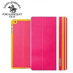Santa Barbara POLO Splash Apple iPad Air (Fuchsia Madness) - By Flipper