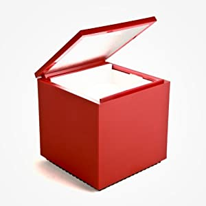 Cini nils cuboluce lampe de chevet rouge for Lampe de chevet anglais