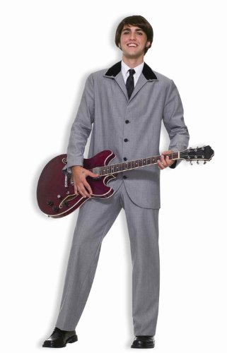 F61802 (Medium 40-42) Beatles British Invasion Adult Suit (British Invasion Jacket compare prices)