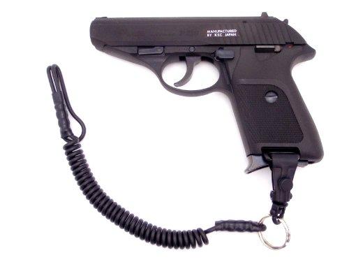 【4点セット】 KSC P230JP HW ガスガン ホルスター ランヤード スペアマガジン 日本警察拳銃