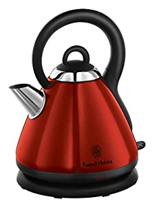 Russell Hobbs 19140 Heritage Kettle - Red from R/HOBBS