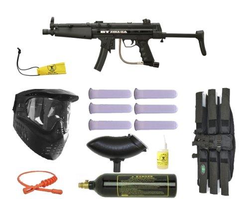 Bt Paintball Delta Gun Mega Bc Set - Black