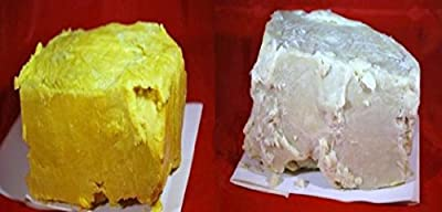 1lb RAW Unrefined Shea Butter & 1lb RAW Cocoa Butter Combo