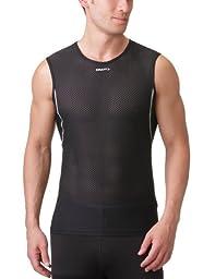Craft Men\'s Cool Mesh Superlight Sleeveless, Black, X-Large