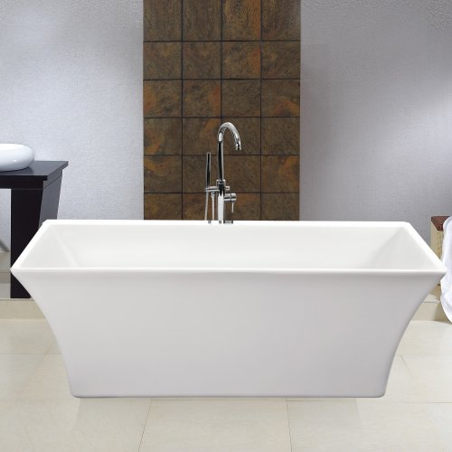 Freestanding roll top bath modern