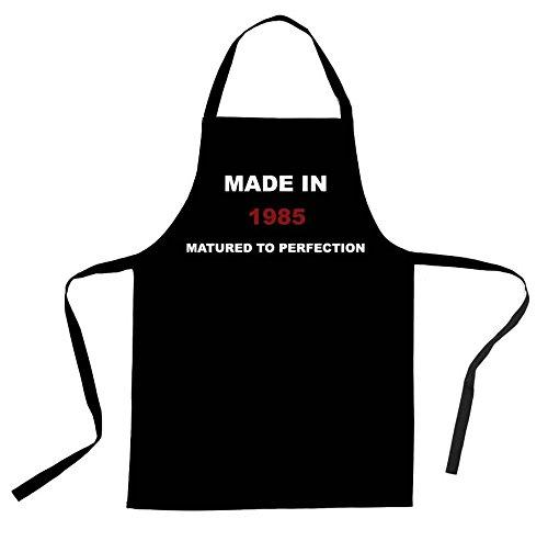 fabrique-en-1981-tablier-en-coton-noir-1982-1983-1984-1985-1986-1987-1988-1989-1985