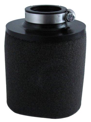 Uni Filter UP4112 Black Universal Urethane Flange Straight Clamp-On Pod Filter