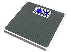 Virgo Iron Body Weighing Scale (Black)