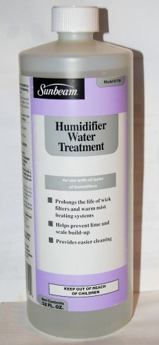 Sunbeam Humidifier Water Treatment