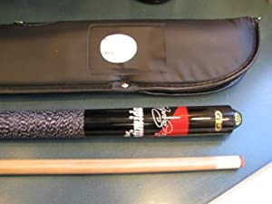 NASCAR Dale Earnhardt Sr Intimidator Daytona Win Pose Pool Cue Stick and Case Combo... by Great Lakes Darts GLD