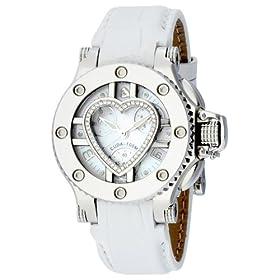 AQUANAUTIC (アクアノウティック) 腕時計 プリンセスクーダ SS MOP/DL Nベゼル&ハートマスク WHカーフ P0006MHTC03 レディース