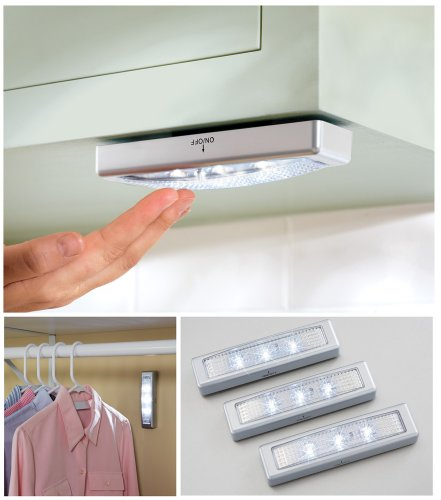 Battery Operated Under Counter Strip Lights Set 3