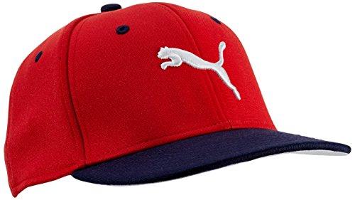 Puma, Cappello Bambino Strechfit, Rosso (High Risk Red-Peacoat), Taglia unica