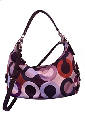 Coach Madison Graphic Op Art Hailey - Cherry Multicolor 18630