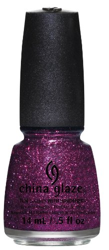 China Glaze 81392 Put a Bow On It Smalto per Unghie con Indurente, 14 ml, Effetto Glitter