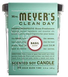 Mrs. Meyer's Clean Day Basil Candle 4.9 OZ