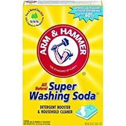 Church & Dwight Co 03020 Arm & Hammer Super Washing Soda Laundry Booster