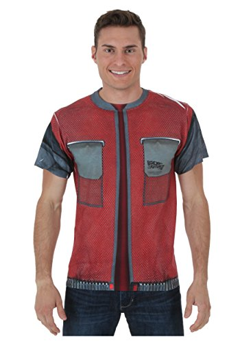 Trevco Inc Back to the Future 2 McFly Future Jacket T-Shirt - Small
