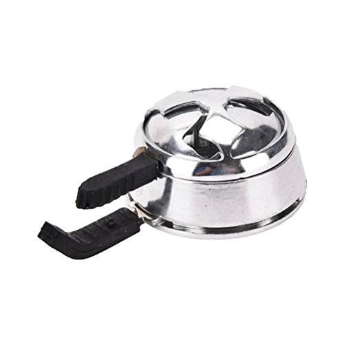 Littlepiano 1 Pcs Charcoal hookah accessories Hookah Bowl Heat Management Cloud Lotus shape (Hookah Coal Stove compare prices)