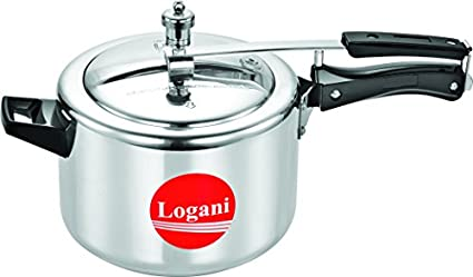 Logani-Aluminium-6.5-L-Pressure-Cooker-(Inner-Lid)