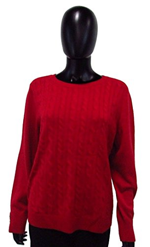 talbots-red-cable-knit-sweater-sz-xl