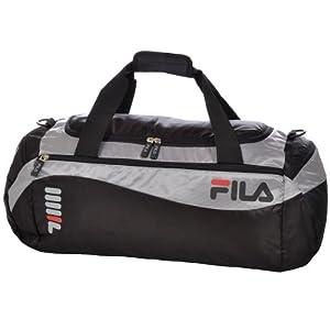Fila Unisex Felipe SportS Holdall Bag - Black/Silver - XS12ESU009 - OS