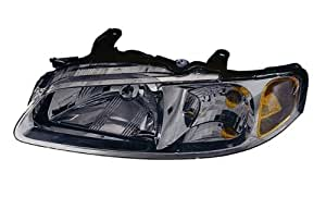 Nissan Sentra Replacement Headlight Assembly (Chrome) - 1-Pair