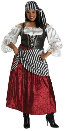 Pirate's Wench Costume - XX-Large - Dress Size