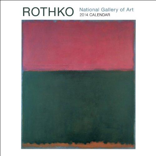 Rothko 2014 Mini Wall Calendar
