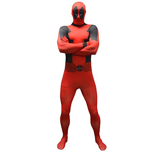Morphsuits Deadpool costume adulto costume Costume (XL) (valore: Deadpool) da Morphsuits