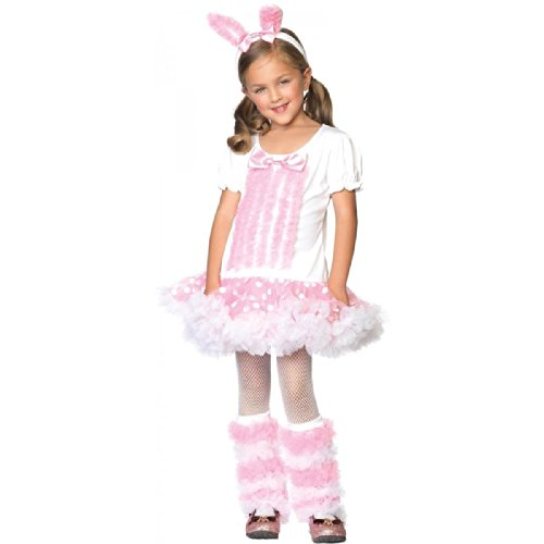 Fluffy Bunny Costume 3pc Set Size Xsmall