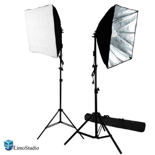 LimoStudio-700W-Photography-Softbox-Light-Lighting-Kit-Photo-Equipment-Soft-Studio-Light-Softbox-24X24-AGG814