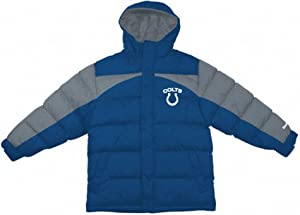 Indianapolis Colts Youth Heavyweight Quilted Parka by Reebok