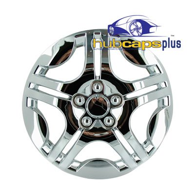 Set of Four 2004, 2005, 2006, 2007 Chevrolet Malibu Style 15 Inch Chrome Hubcaps Wheel Covers