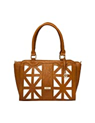 Mod'acc  Shoulder Bag for women (Brown)