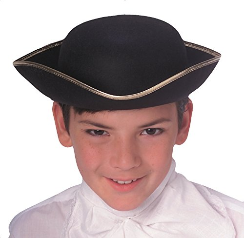 Rubie's Costume Co Durashpe Child Tricorn-Bk Costume - 1