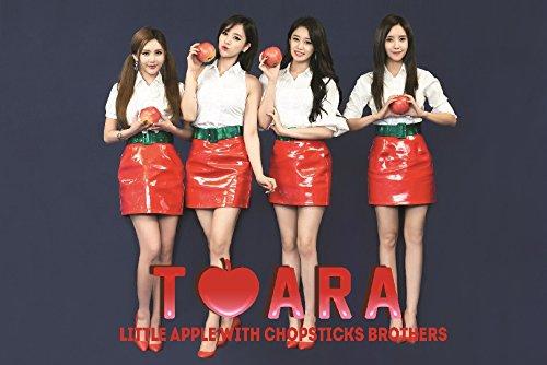 T-ARA Little Apple  韓中プロジェクトアルバム CD+DVD ( 韓国盤 )(リージョンコード:オール)( 初回限定特典特典7点 )( 韓メディアSHOP限定 )