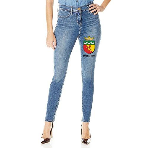Crest Coat Of Arms Jegging Skinny Jeans