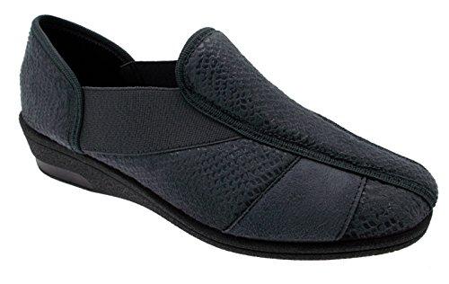 pantofola elasticizzata grigio fisioterapia extra large 37 grigio