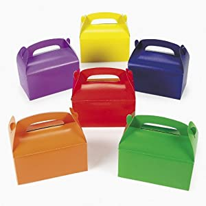 Assorted Color Treat Boxes (1 dz)