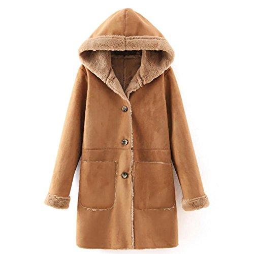 YUYU-Hiver-Garder-au-chaud-Camel-Madame-paissie-manteau-de-veste-avec-cagoule