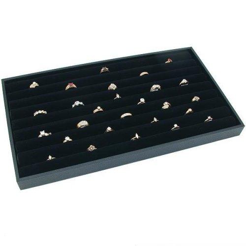 wood ring holder 14k white gold akoya pearl ring hr