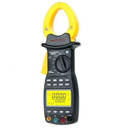 Kkmoon Original Mastech Ms2203 3-Phase Clamp Meter Power Factor Correction Usb True-Rms 4 Wire