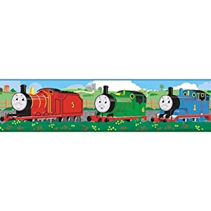 Roommates Thomas The Tank Engine Peel And Stick Wall Decals from York Wallcoverings